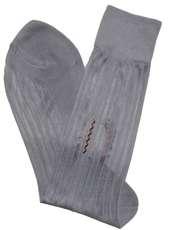 جوراب مردانه گل نرجس کد 02 رنگ طوسی -  - 2