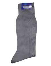 جوراب مردانه گل نرجس کد 02 رنگ طوسی -  - 3