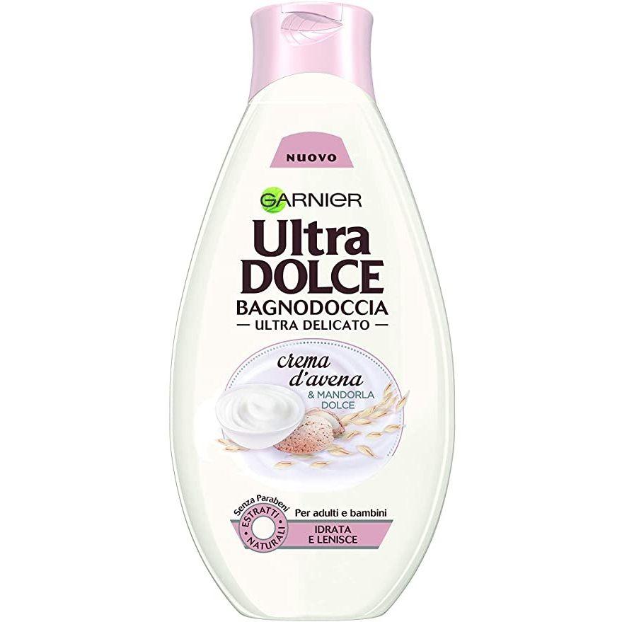 شامپو بدن گارنیه سری Ultra Dolce مدل Crema Davena حجم 500 میلی لیتر