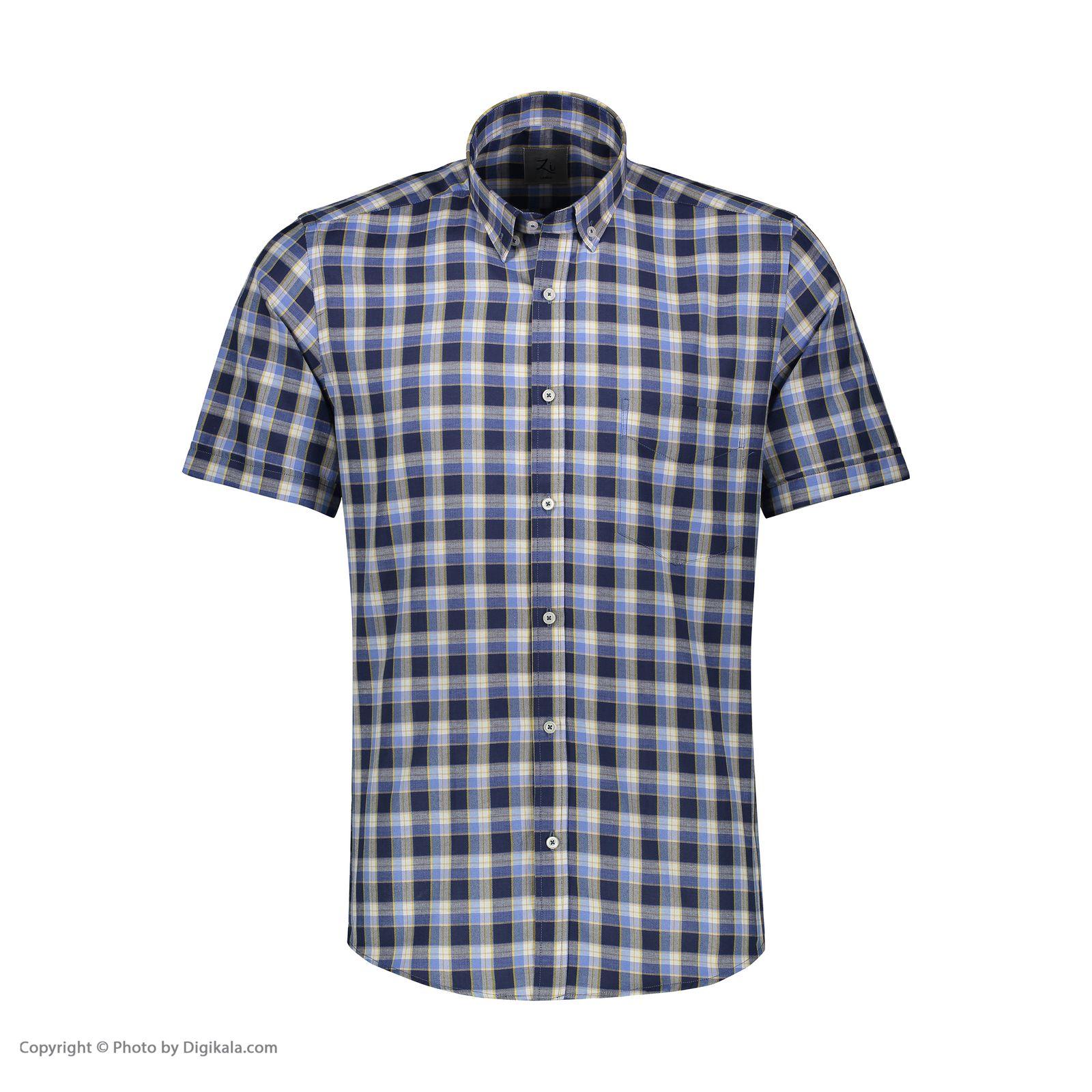 پیراهن مردانه زی مدل 1531226MC -  - 3