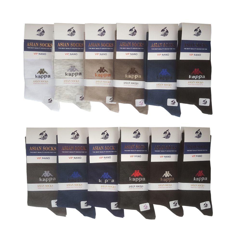 جوراب مردانه آسیان ساکس کد PH321 مجموعه 12 عددی