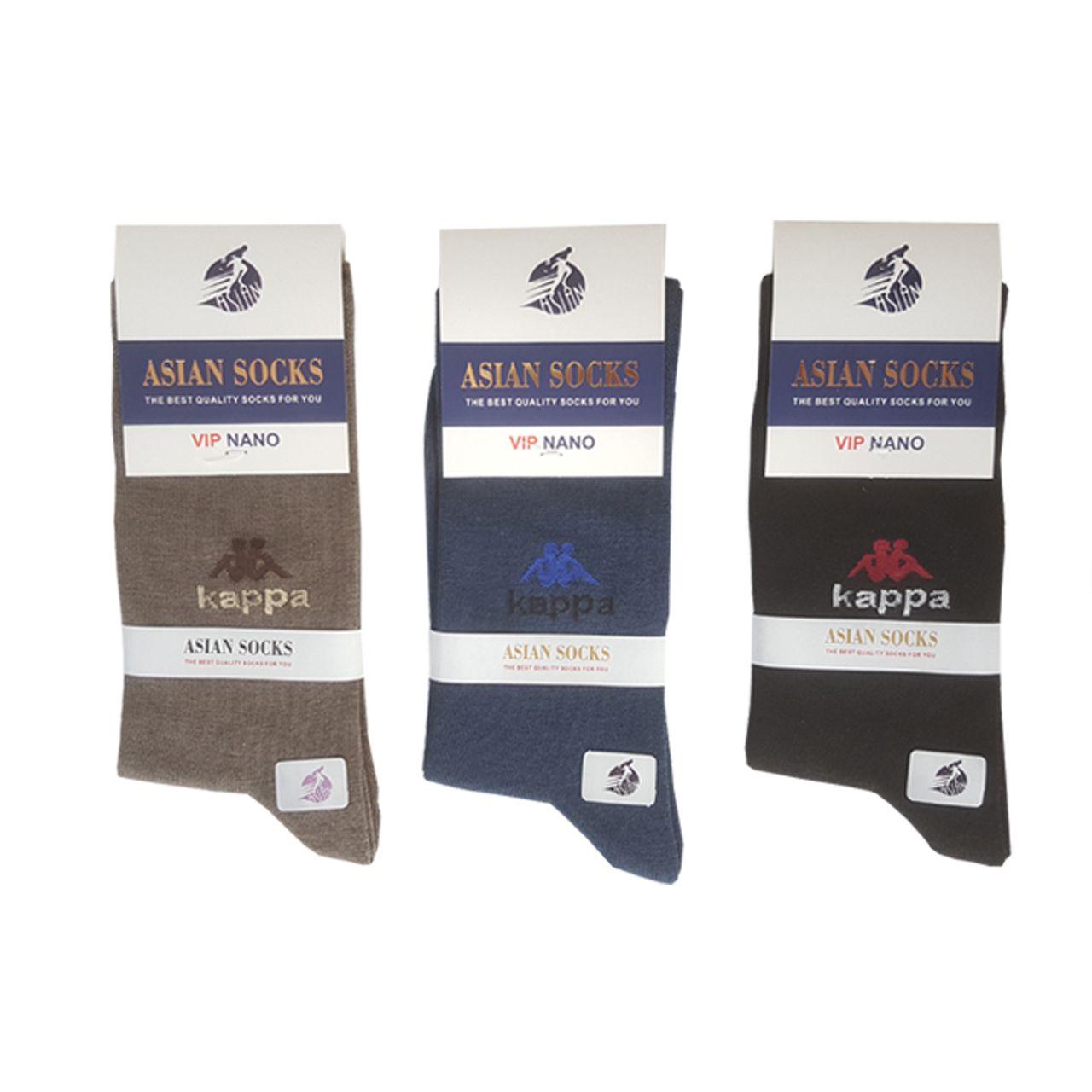 جوراب مردانه آسیان ساکس کد PH321 مجموعه 12 عددی -  - 6