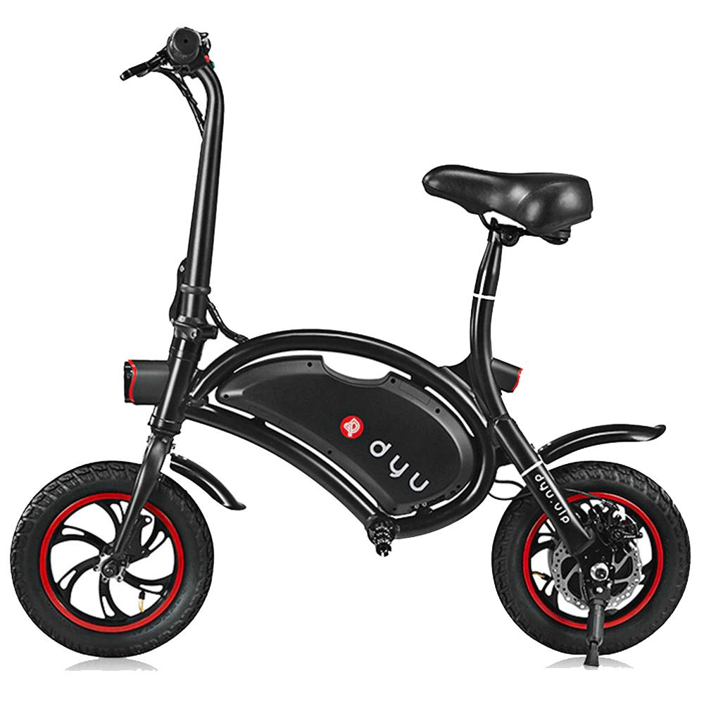 دوچرخه برقی دی یو مدل D1 سایز 12