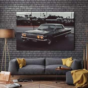 تابلو شاسی طرح ماشین مدل ایمپالا کد 637