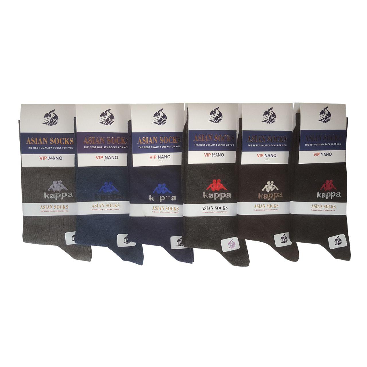 جوراب مردانه آسیان ساکس کد PH321 مجموعه 12 عددی -  - 4