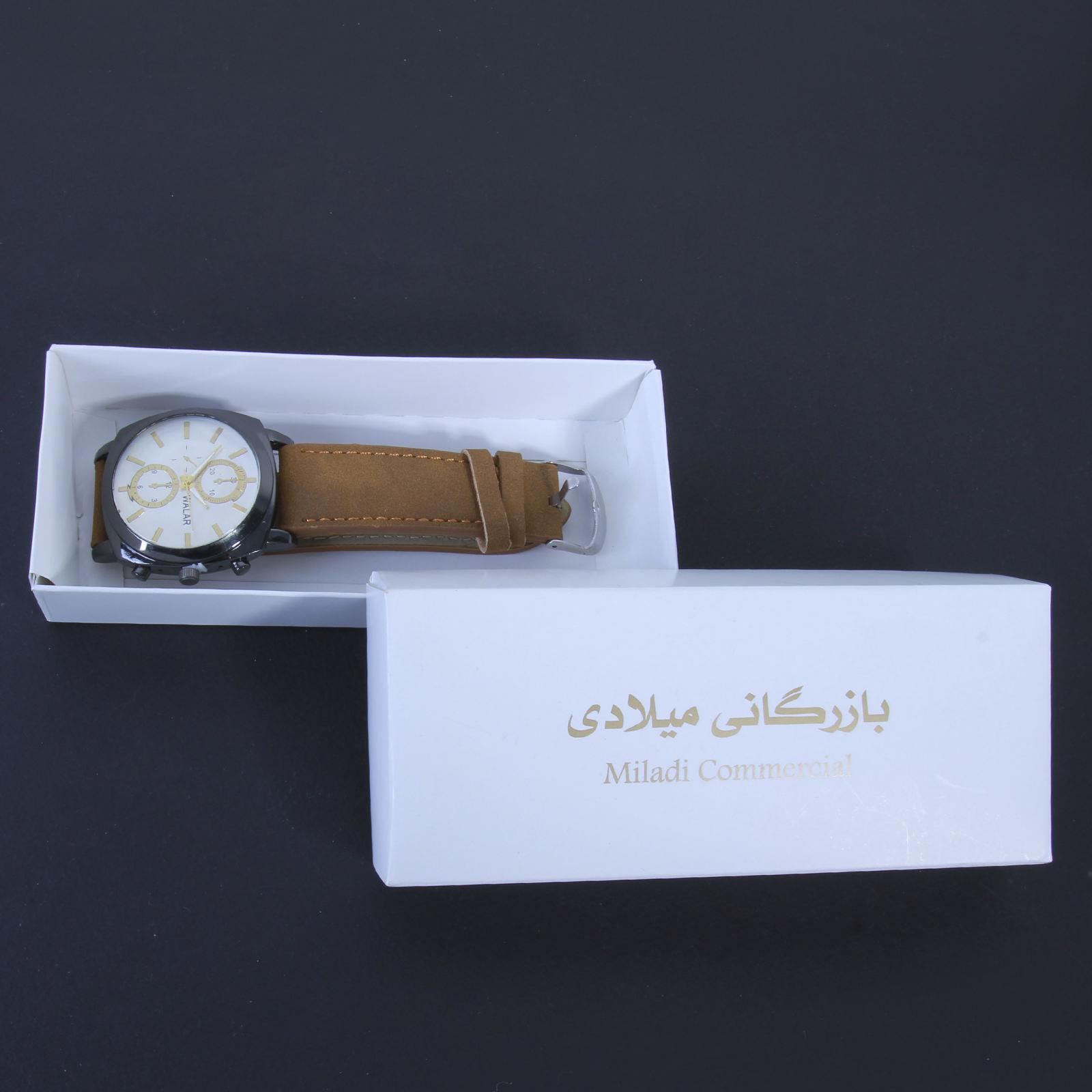 ساعت مچی عقربه ای مردانه والار کد WHM_022 -  - 3