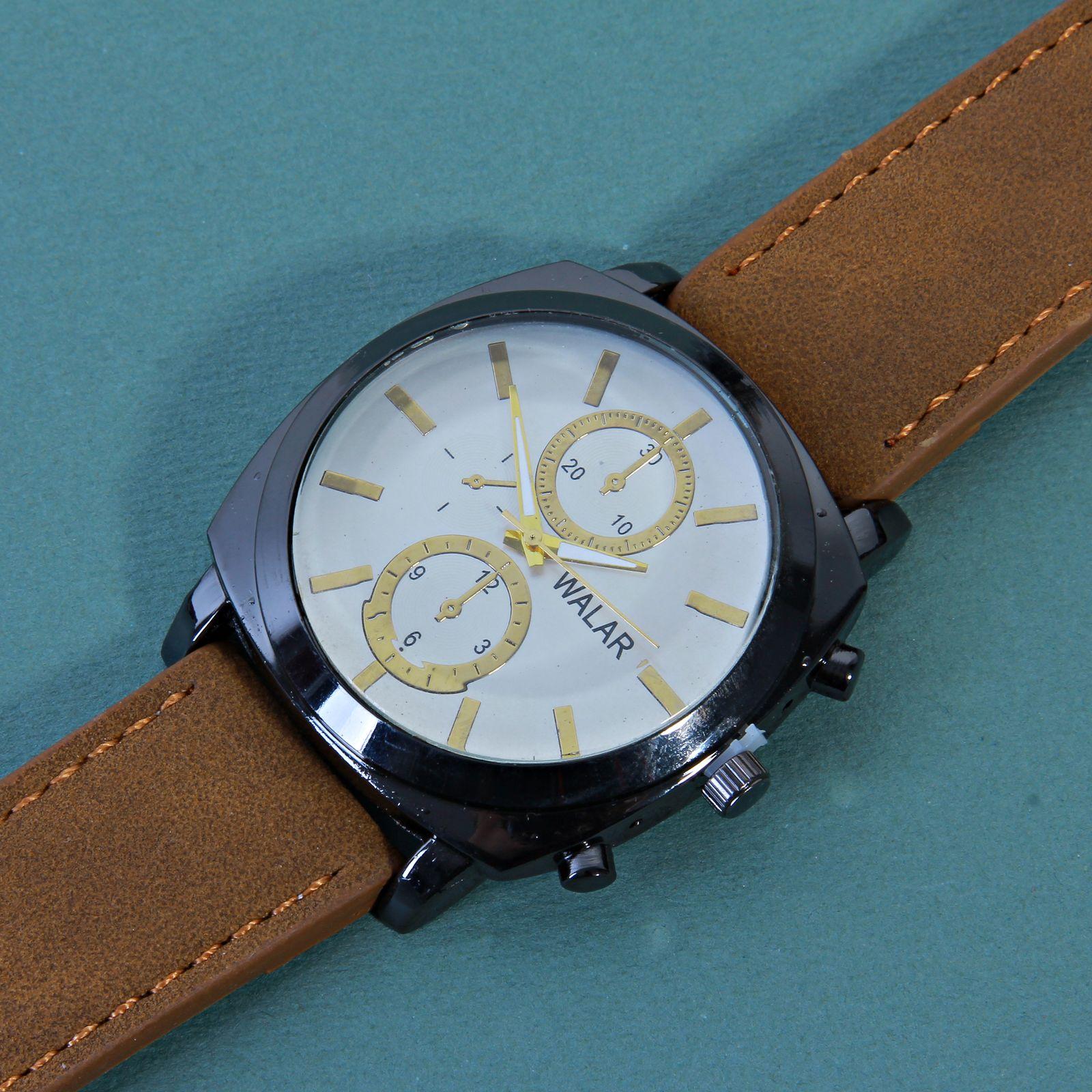 ساعت مچی عقربه ای مردانه والار کد WHM_022 -  - 5