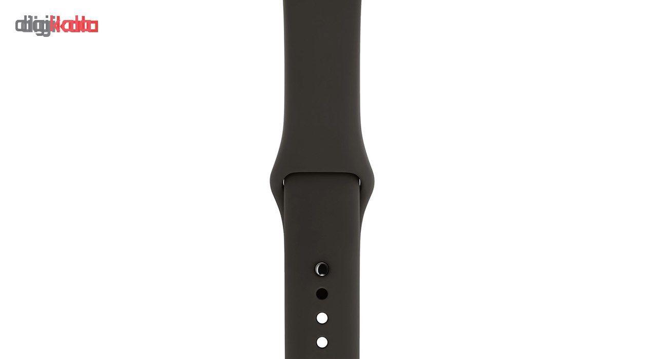 ساعت هوشمند اپل سری 3 جی پی اس مدل 38mm Aluminium Case with Sport Band main 1 6