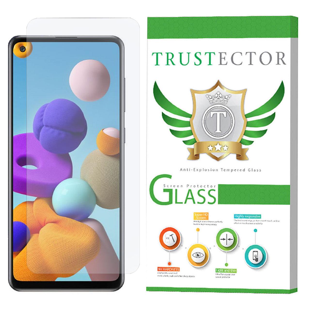 محافظ صفحه نمایش تراستکتور مدل GLS مناسب برای گوشی موبایل سامسونگ Galaxy A21s               ( قیمت و خرید)