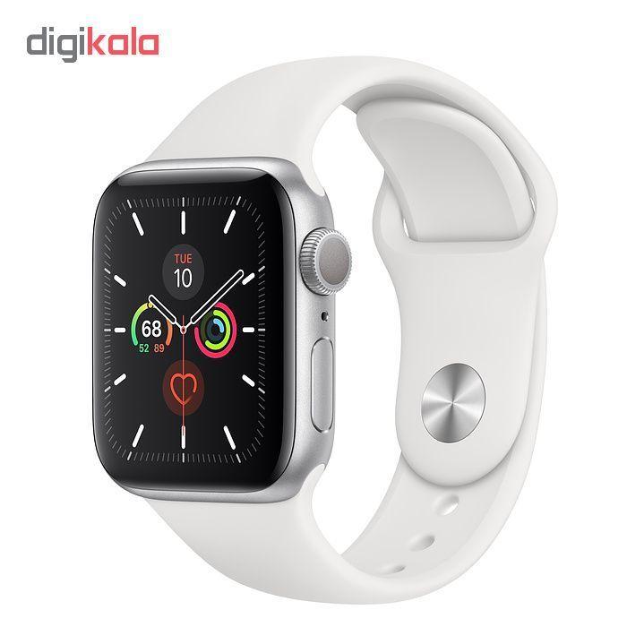 ساعت هوشمند اپل واچ سری 5 مدل 44m Space  Aluminum Case  Sport Band main 1 18