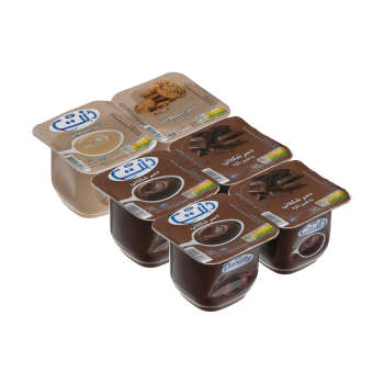 دسر دنت با طعم بیسکویت و شکلات - 100 گرم مجموعه 6 عددی