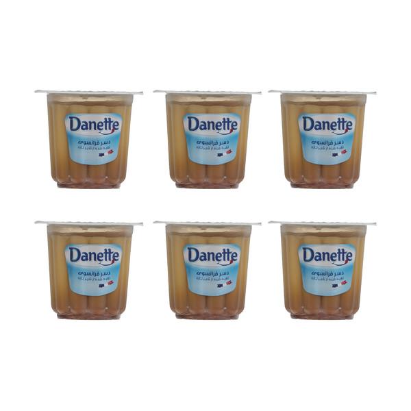 دسر دنت با طعم کرم کارامل - 100 گرم بسته 6 عددی
