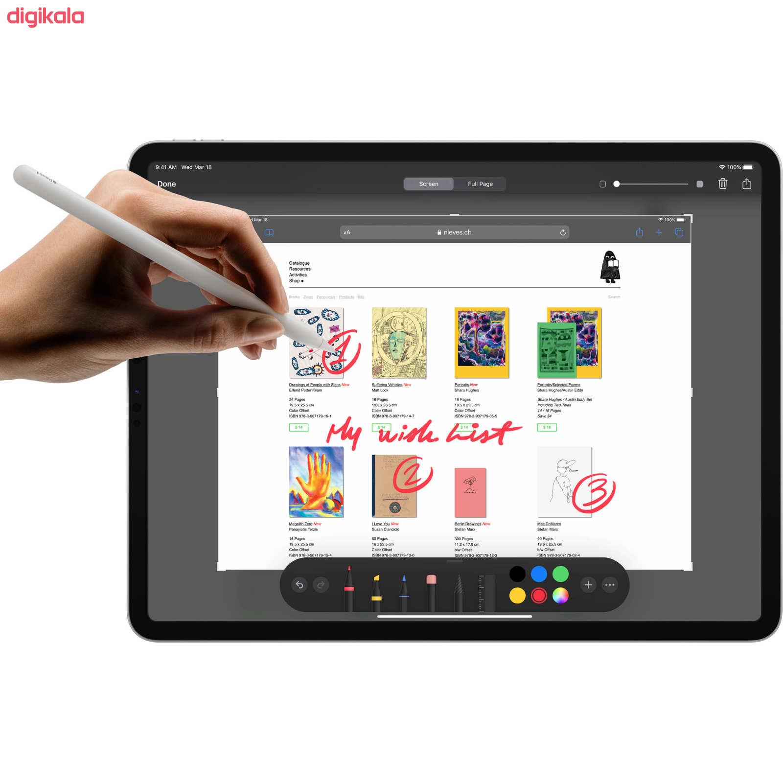 تبلت اپل مدل iPad Pro 2020 12.9 inch WiFi ظرفیت 128 گیگابایت  main 1 13