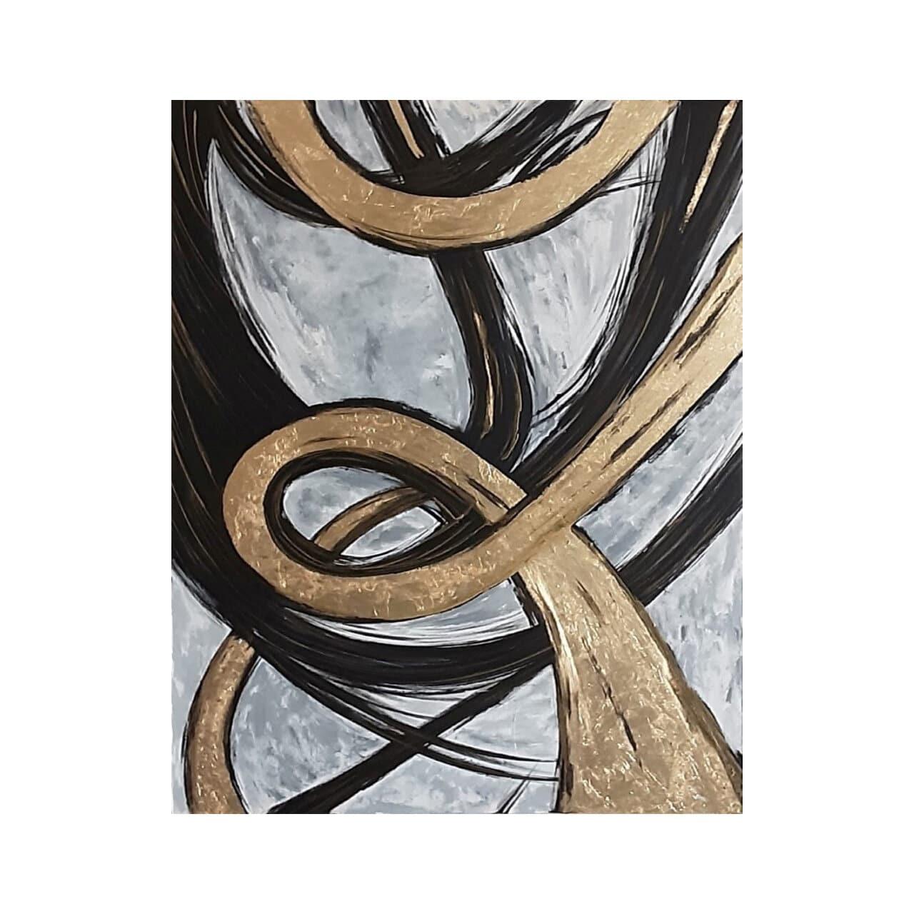 خرید                      تابلو نقاشی ورق طلا کد 01