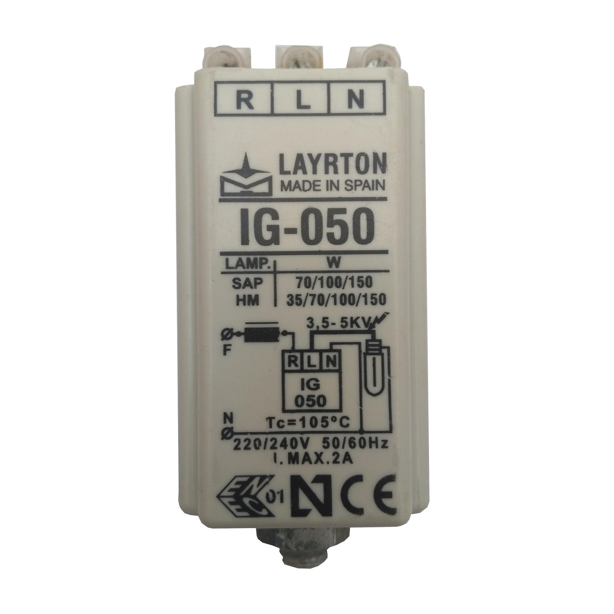 استارتر لامپ گازی  مدل IG-050