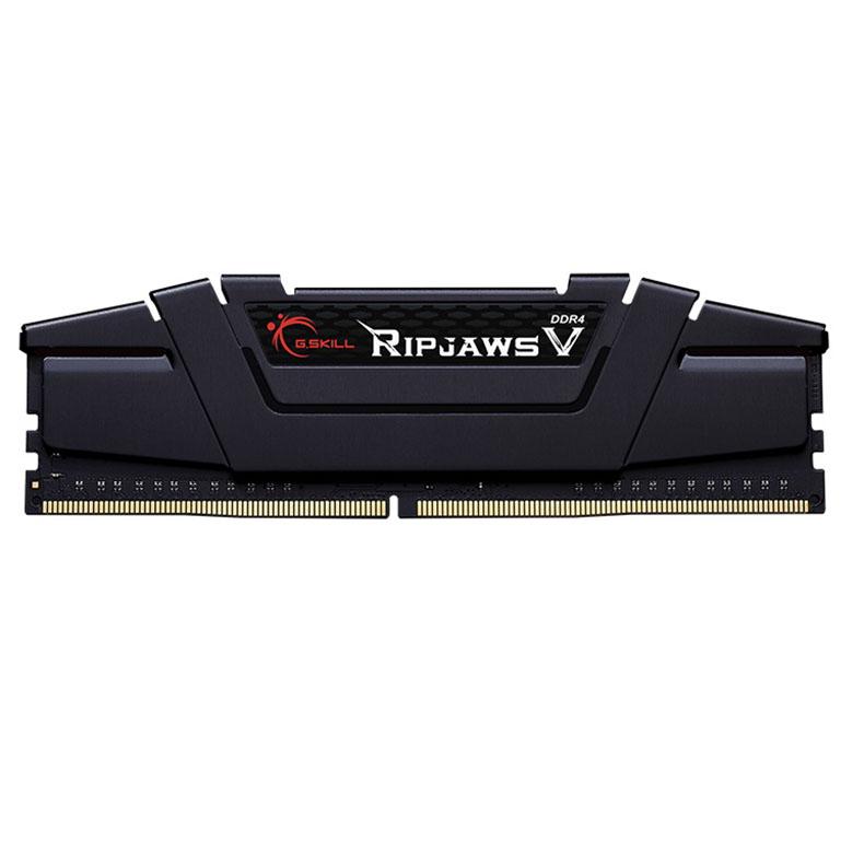 رم دسکتاپ DDR4 تک کاناله 3200 مگاهرتز CL16 جی اسکیل مدل ripjaws v ظرفیت 32 گیگابایت