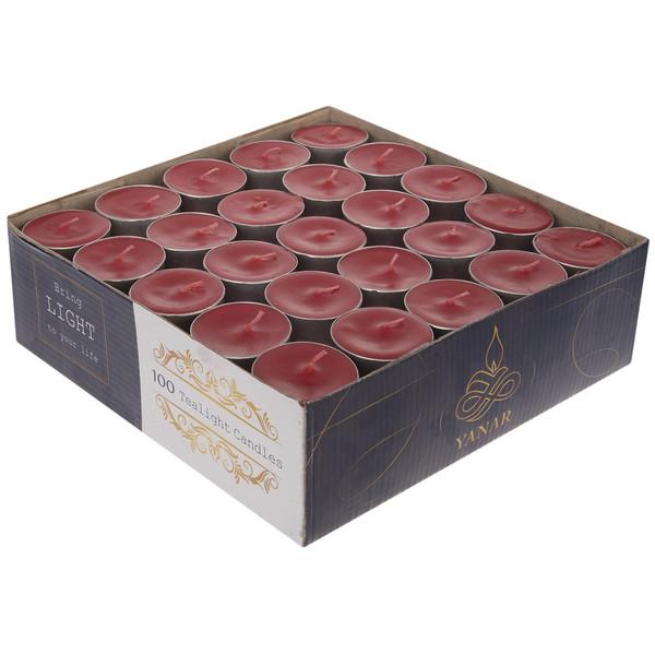 وارمر یانار مدل Tealight بسته 100 عددی