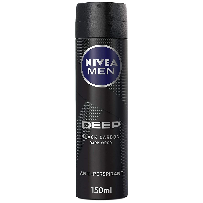 اسپری ضد تعریق مردانه نیوآ سری deep مدل Black Carbon حجم 150 میلی لیتر  -  - 2