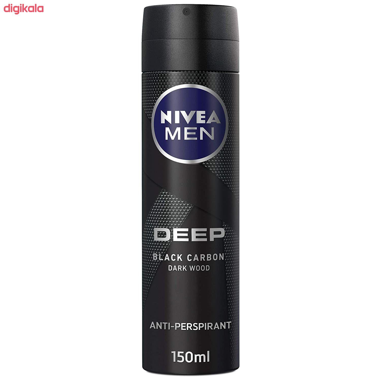 اسپری ضد تعریق مردانه نیوآ سری deep مدل Black Carbon حجم 150 میلی لیتر  main 1 1