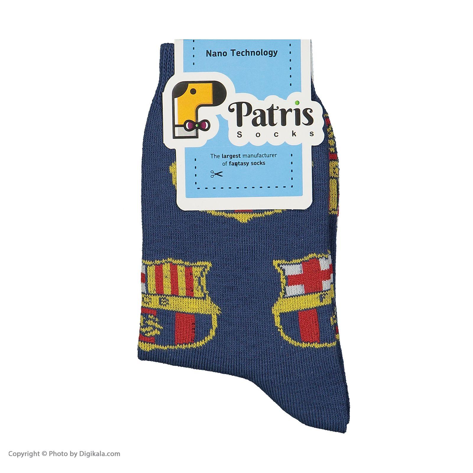 جوراب بچگانه پاتریس طرح بارسا مدل 2271197-77 -  - 5