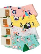 جوراب دخترانه کد 09 مجموعه 4 عددی -  - 1