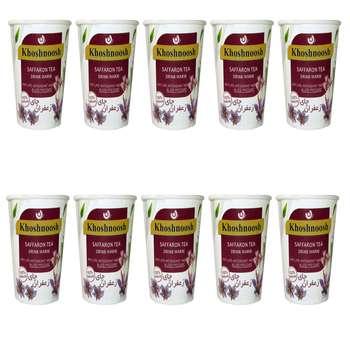 چای زعفران خوش نوش بسته 10 عددی