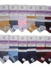 جوراب زنانه آسیان کد PH327 مجموعه 12 عددی -  - 1