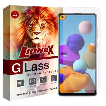 محافظ صفحه نمایش لایونکس مدل UPS مناسب برای گوشی موبایل سامسونگ Galaxy A21s