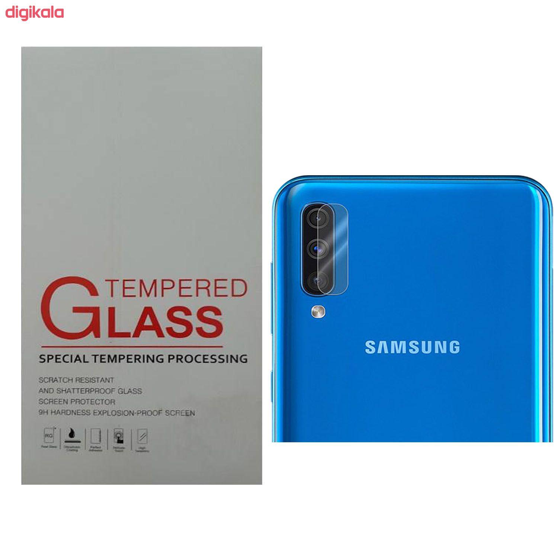محافظ لنز دوربین مدل ZT_59 مناسب برای گوشی موبایل سامسونگ Galaxy A50 main 1 2