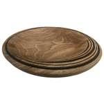 بشقاب چوبی کد 126