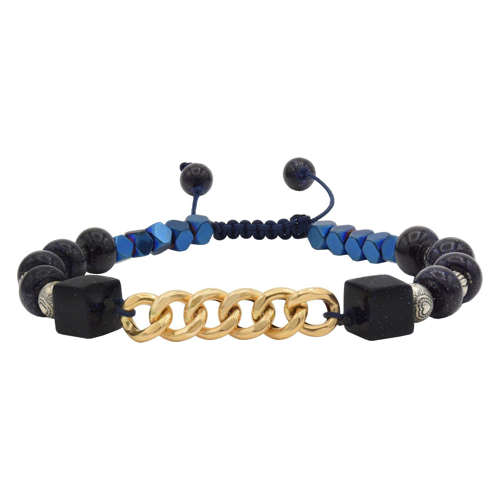 دستبند طلا 18 عیار زنانه آمانژ کد 1006D8951 -  - 2