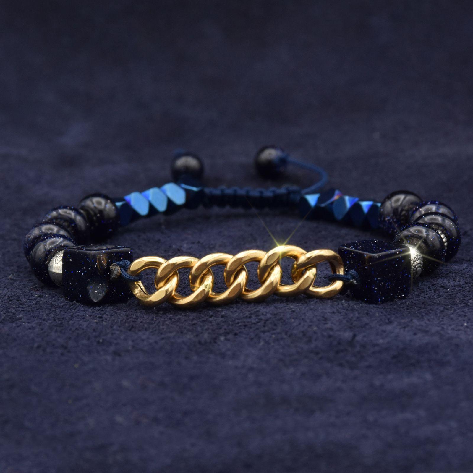 دستبند طلا 18 عیار زنانه آمانژ کد 1006D8951 -  - 3