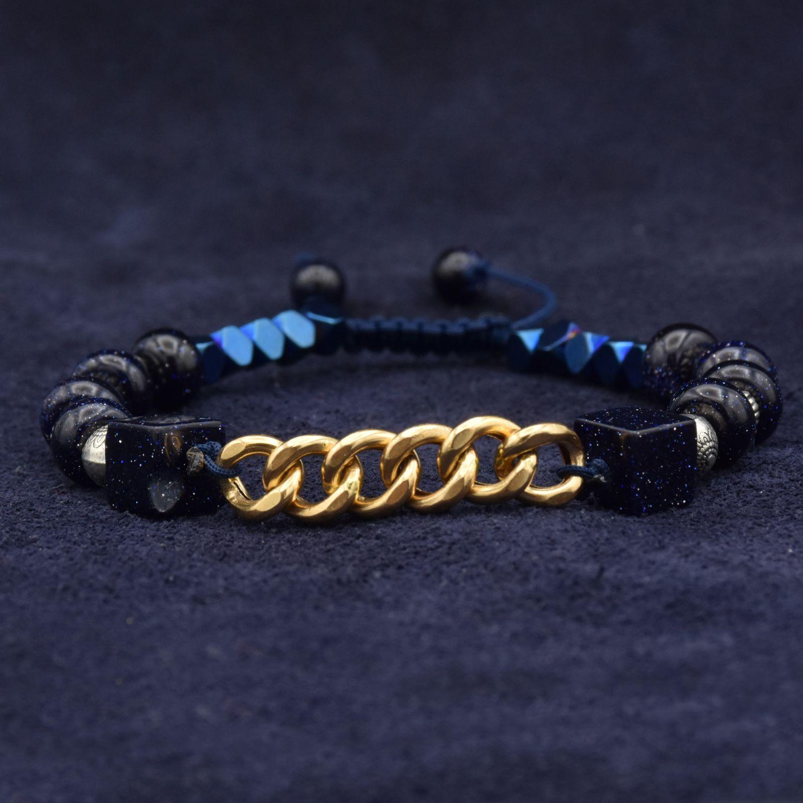 دستبند طلا 18 عیار زنانه آمانژ کد 1006D8951 -  - 4