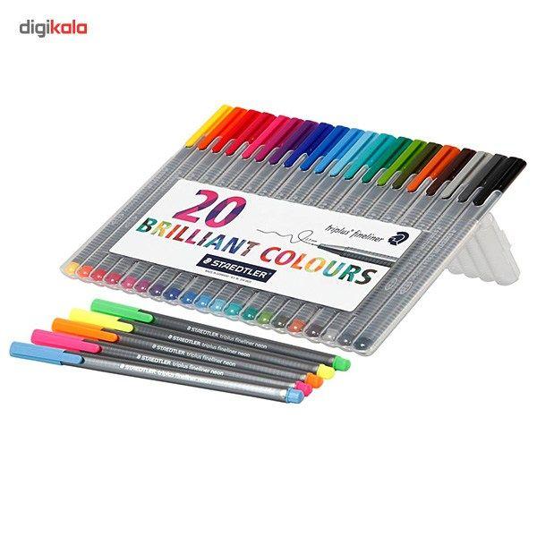روان نویس 20 رنگ استدلر مدل Triplus Brilliant Ciolours main 1 1