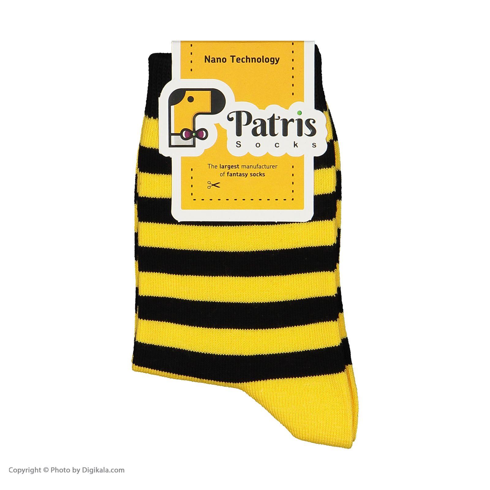 جوراب بچگانه پاتریس طرح زنبوری مدل 2271193-16 -  - 5