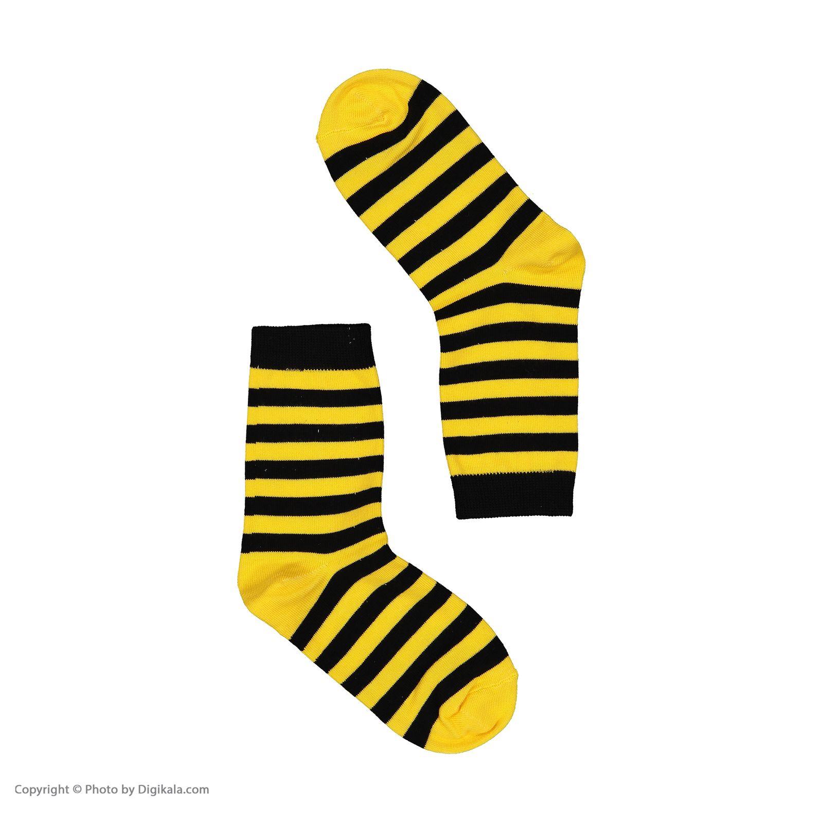 جوراب بچگانه پاتریس طرح زنبوری مدل 2271193-16 -  - 4