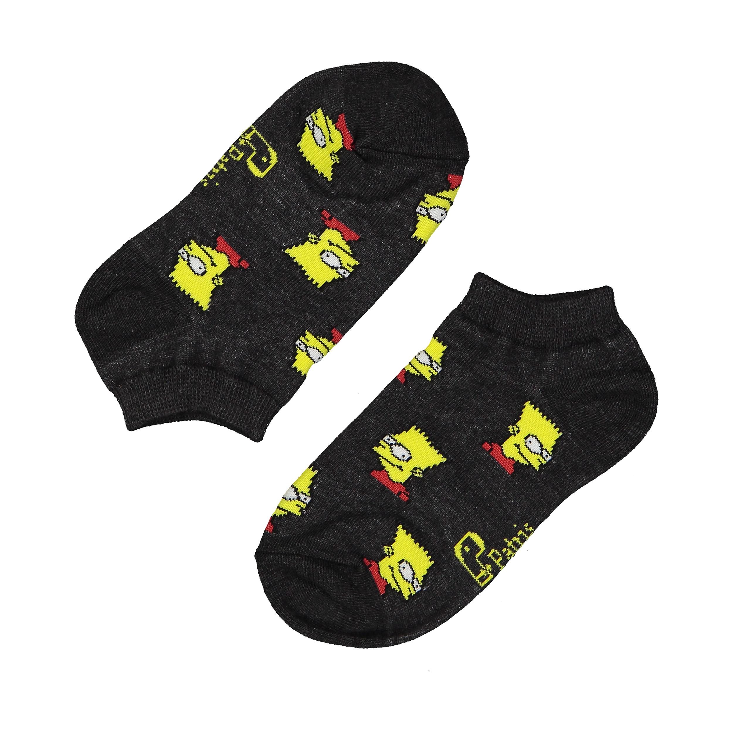 جوراب بچگانه پاتریس طرح سیمپسون مدل 2271192-94