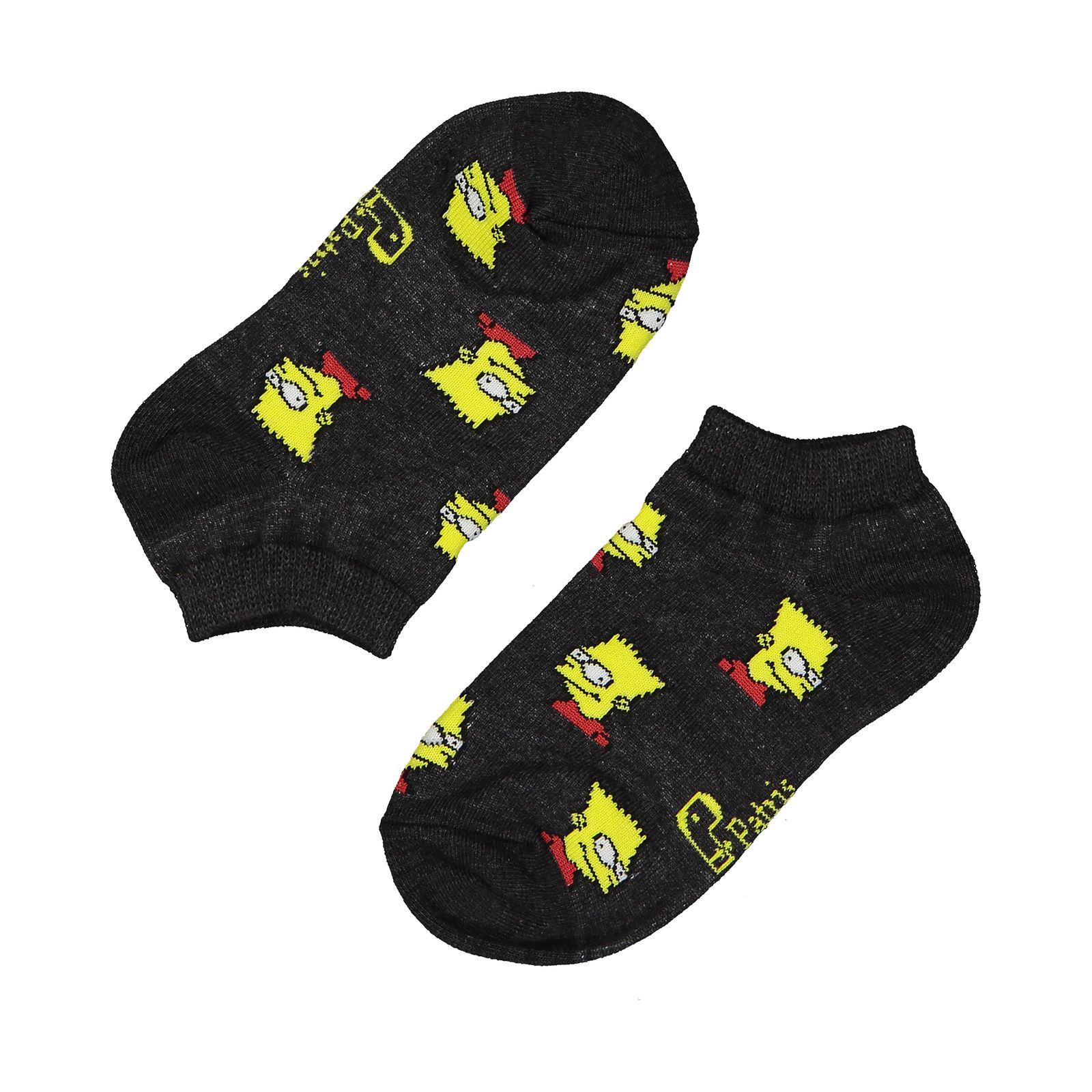 جوراب بچگانه پاتریس طرح سیمپسون مدل 2271192-94 -  - 2