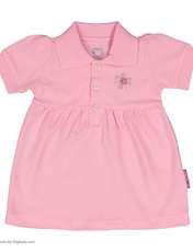 ست پیراهن و شلوارک نوزادی دخترانه آدمک مدل 2171109-84 -  - 3