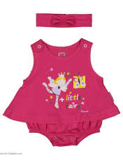 سرهمی نوزادی دخترانه آدمک مدل 2171108-88 -  - 2