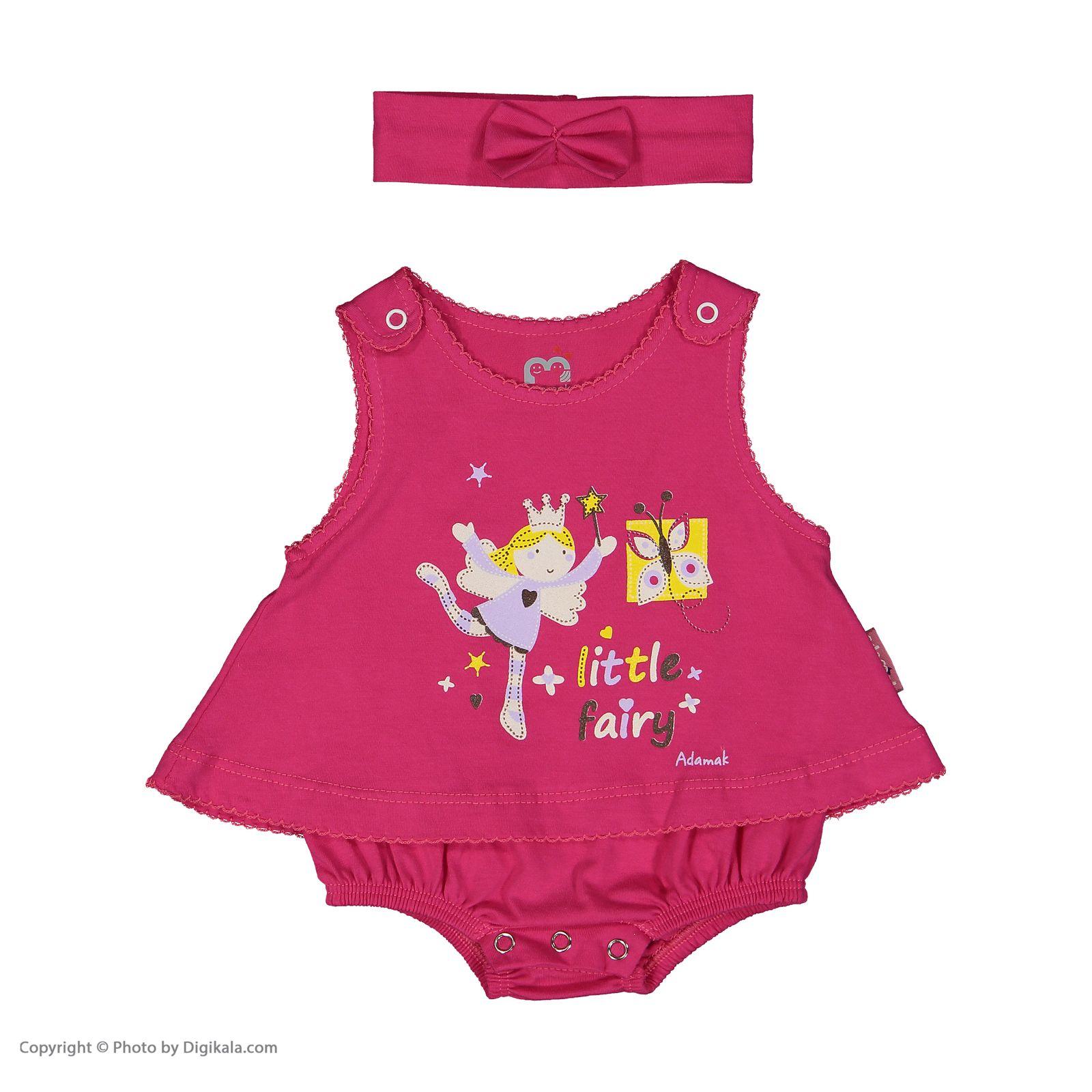 سرهمی نوزادی دخترانه آدمک مدل 2171108-88 -  - 3