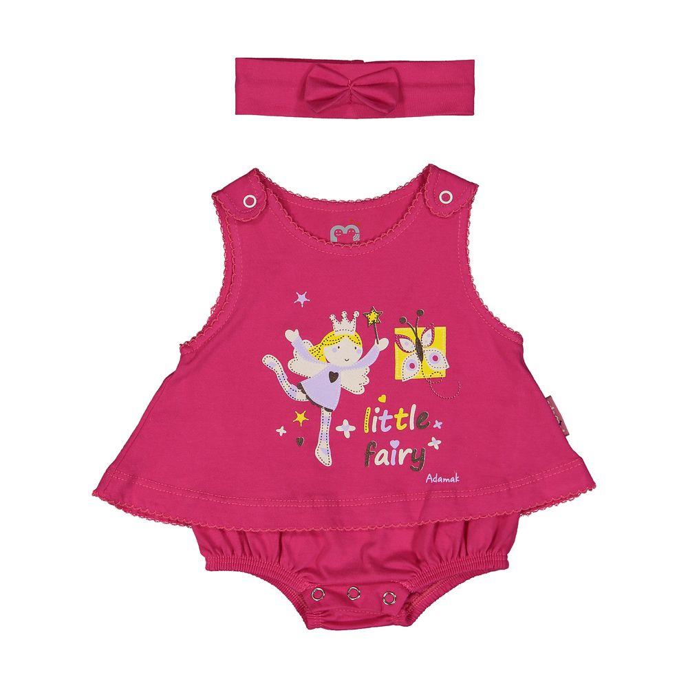 سرهمی نوزادی دخترانه آدمک مدل 2171108-88