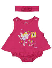 سرهمی نوزادی دخترانه آدمک مدل 2171108-88 -  - 1