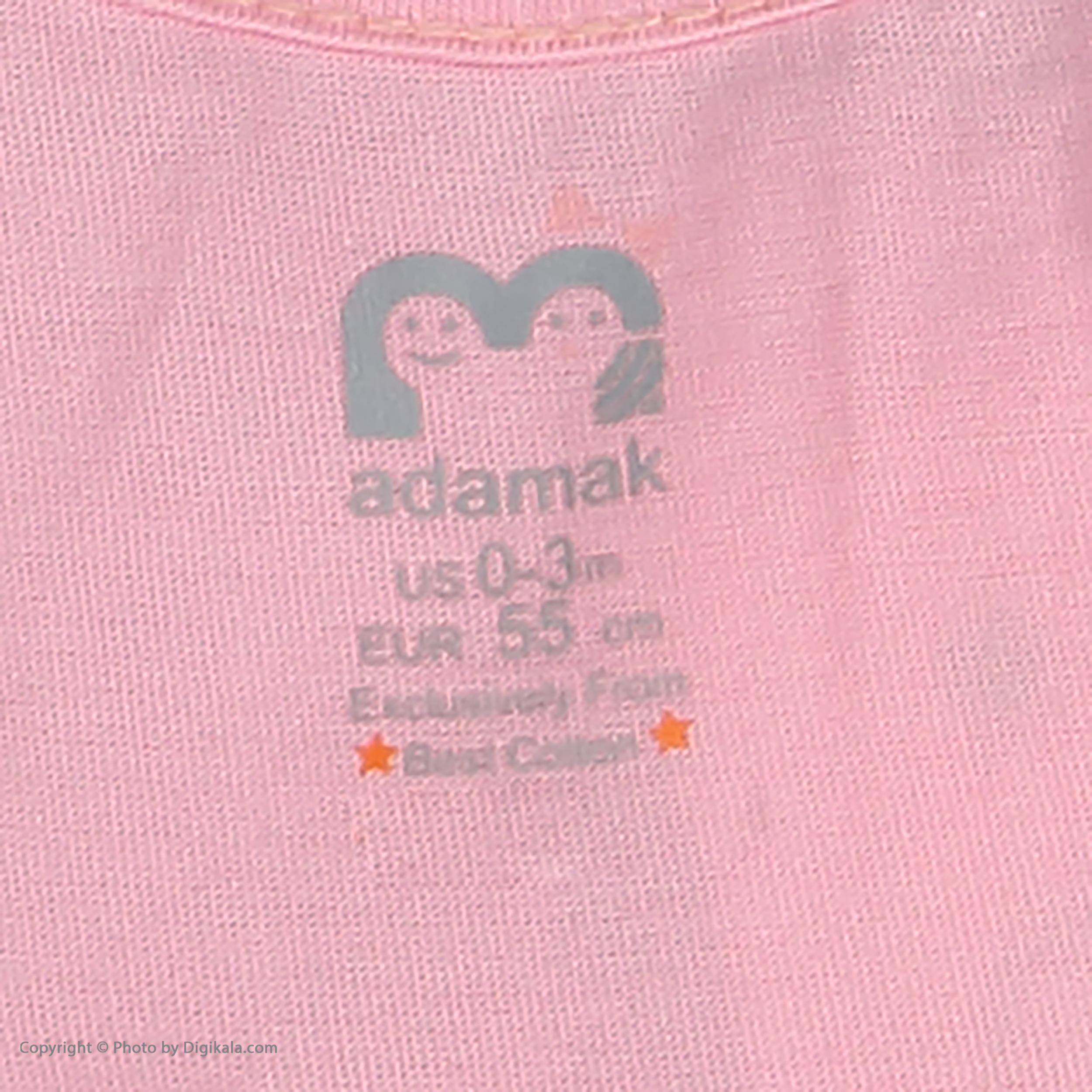 ست پیراهن و شورت نوزادی دخترانه مدل 2171111-84 -  - 10