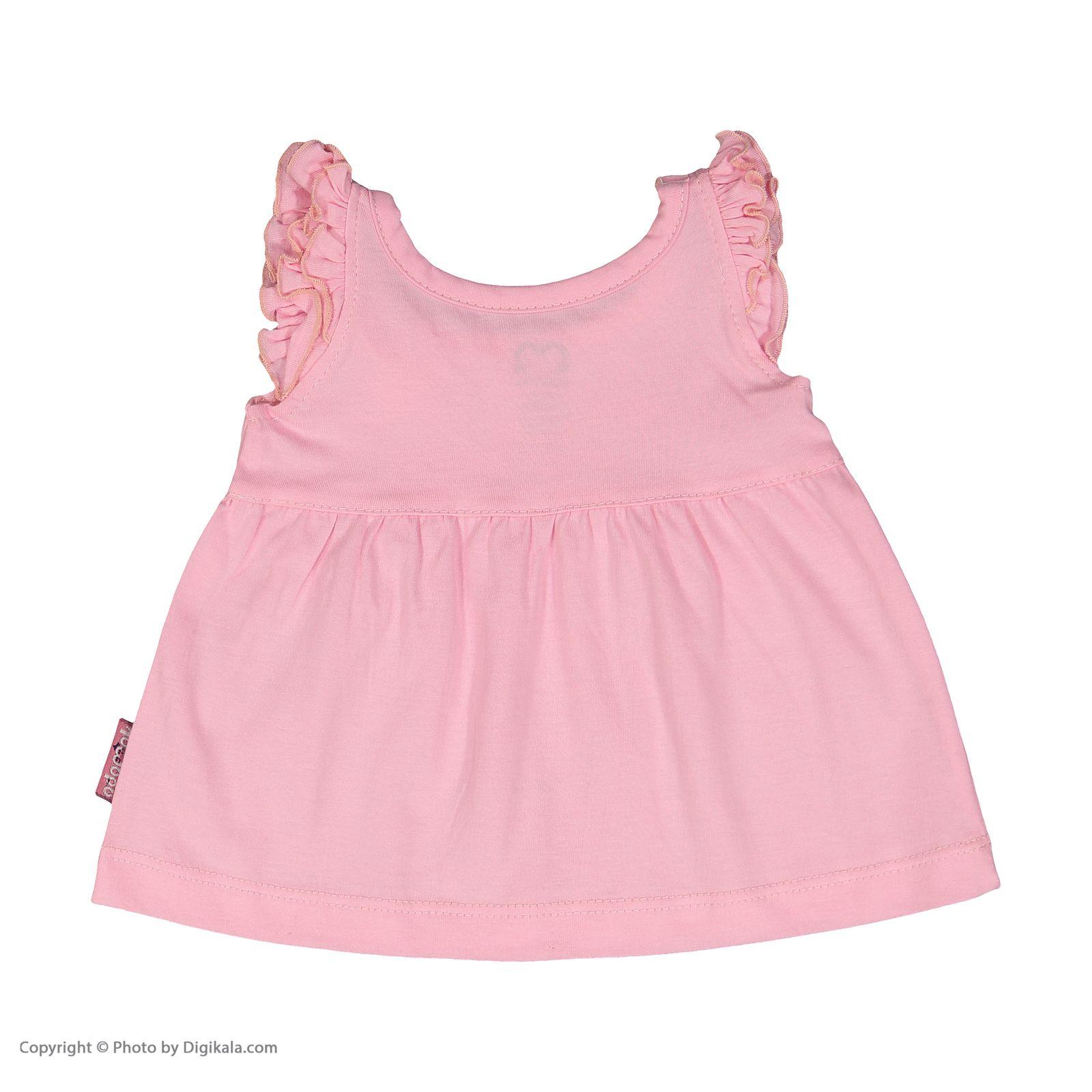 ست پیراهن و شورت نوزادی دخترانه مدل 2171111-84 -  - 5