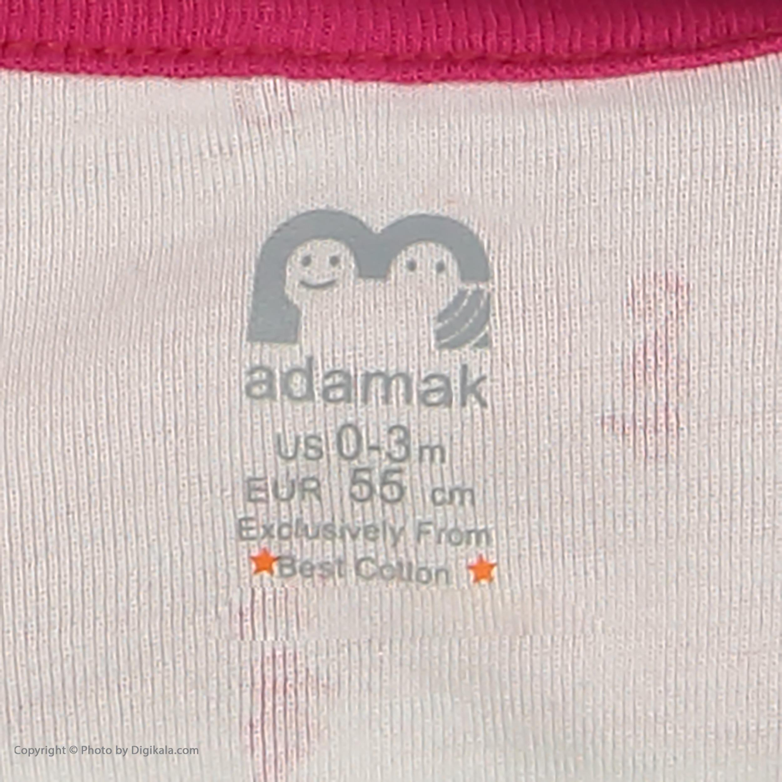 ست تی شرت و شورت نوزادی دخترانه آدمک مدل 2171112-88 -  - 7