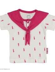 ست تی شرت و شورت نوزادی دخترانه آدمک مدل 2171112-88 -  - 3
