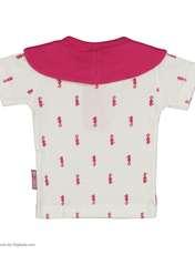 ست تی شرت و شورت نوزادی دخترانه آدمک مدل 2171112-88 -  - 4