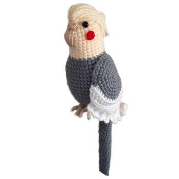 عروسک بافتنی مدل عروس هلندی کد 03
