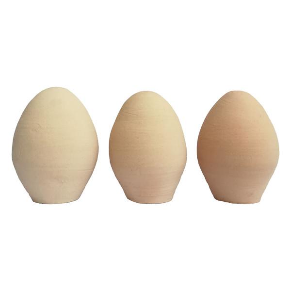 تخم مرغ سفالی مدل 101 بسته 3 عددی